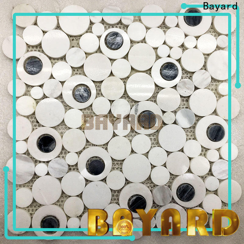 Bayard glossy grey mosaic floor tiles order now for wall decoration