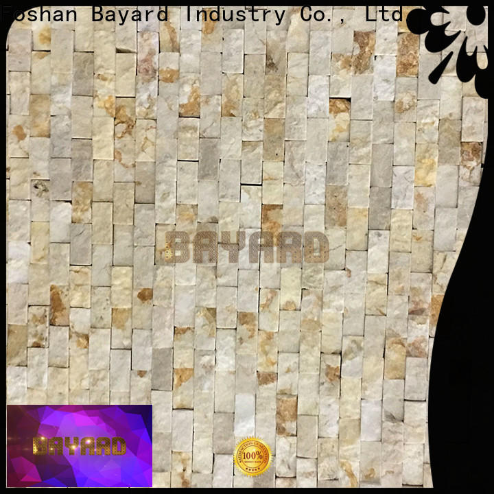 noble brown mosaic tile ceramic overseas market for wall decoration