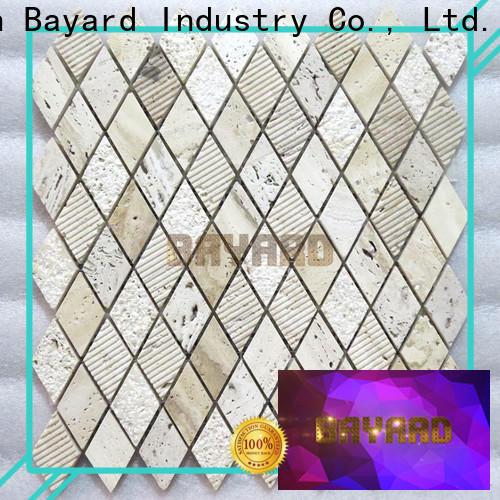 chic travertine mosaic floor tile backsplash supplier for foundation