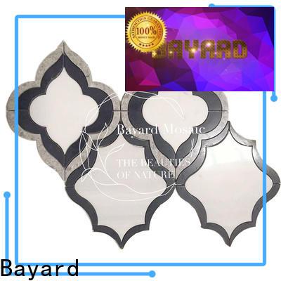 Bayard affordable waterjet tile factory price for bathroom