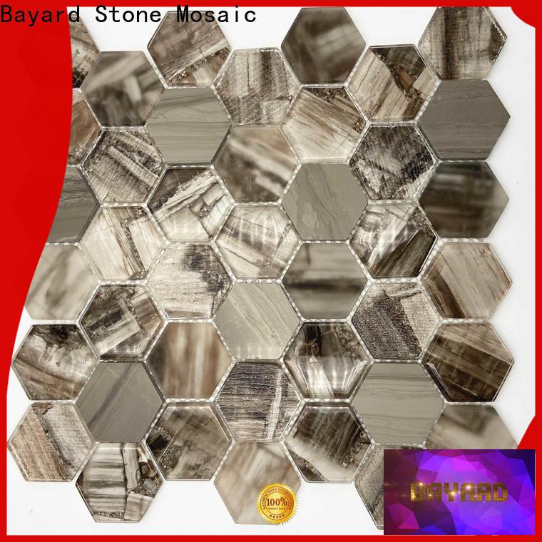 Bayard color Glass mosaic order now for bathroom