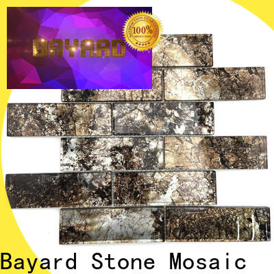 high quality glass mosaic tile sheets or in china for hotel lobby