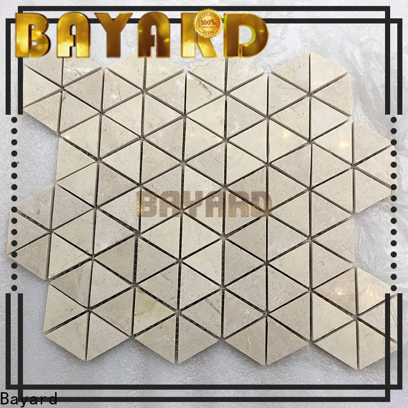 high-end mosaic bathroom floor tile marble for wholesale for supermarket