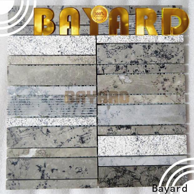 hot-sale mosaic tile backsplash gray for decoration