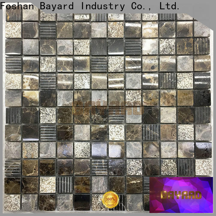 high standards grey mosaic tiles brown dropshipping