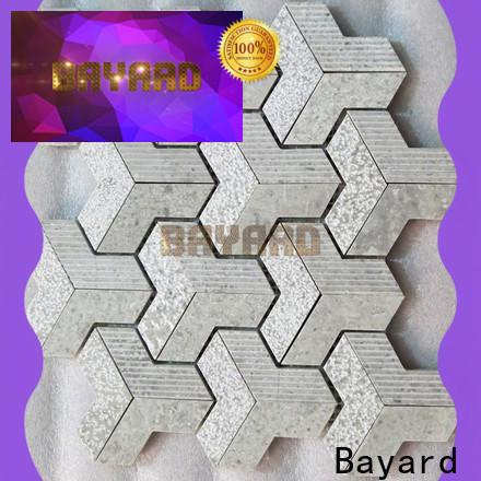 high-end 2x2 mosaic tile gray