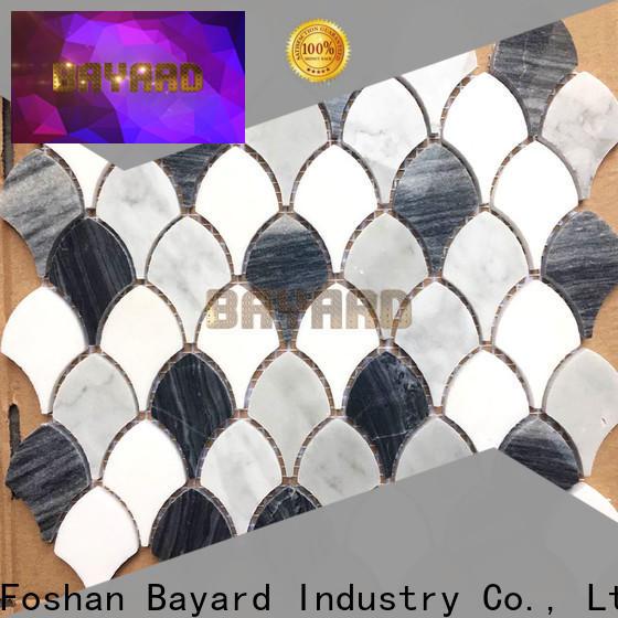 Bayard high quality metal mosaic tiles for foundation