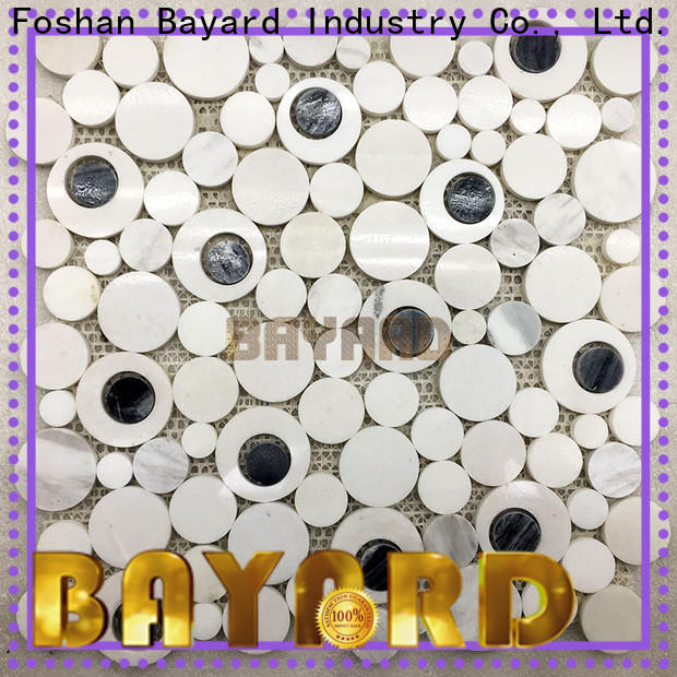 Bayard white mosaic bathroom wall tiles factory price for wall decoration
