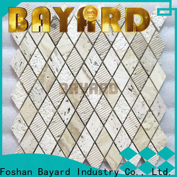Bayard tile travertine mosaic floor tile order now for bathroom