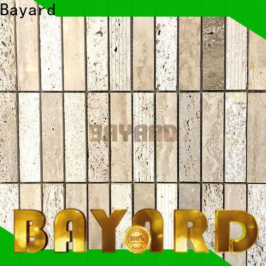 Bayard fashion design glass mosaic floor tile vendor for hotel lobby