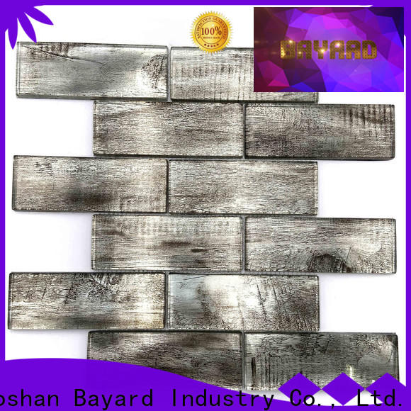 Bayard marble white glass mosaic tile newly for hotel lobby