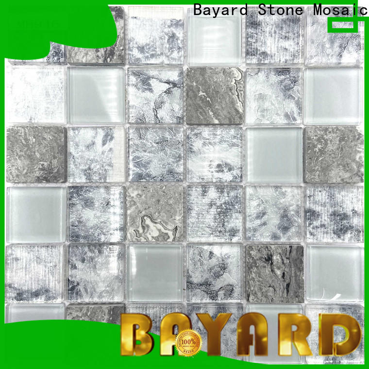 Bayard imitated green glass mosaic tiles newly for foundation