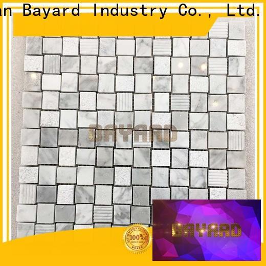 Bayard natural home depot mosaic tile newly for TV wall