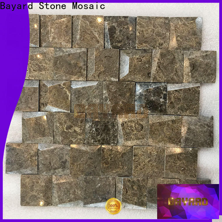Bayard elegant grey mosaic tiles newly for hotel