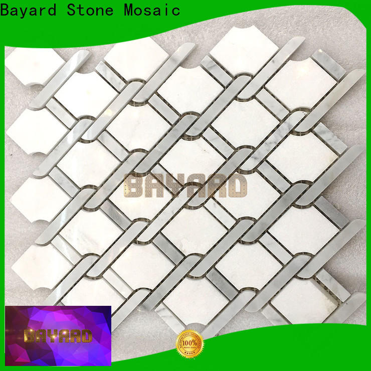 fashion design discount mosaic tile white newly for foundation