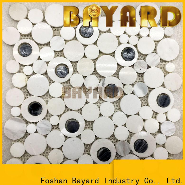 Bayard glossy brick mosaic tile factory for foundation