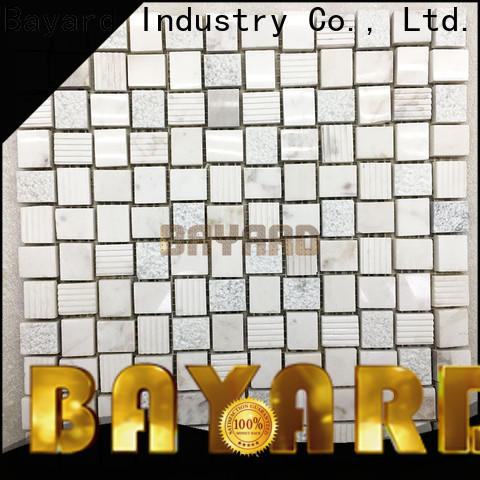 upscale light grey mosaic tiles flooring overseas market for wall decoration