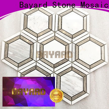Bayard profdssional rectangle mosaic tiles factory price for hotel lobby