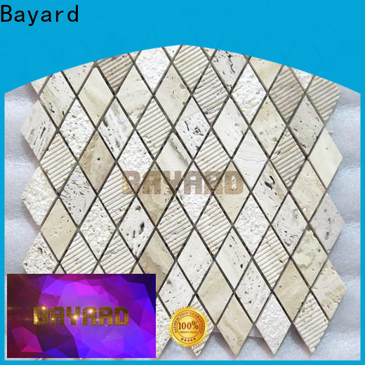 Bayard tile travertine mosaic tile backsplash in china for hotel lobby