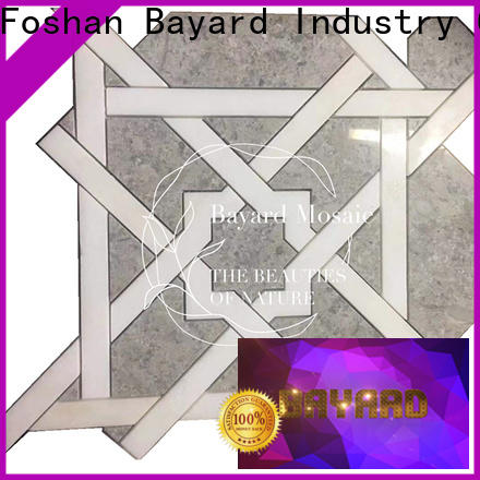 Bayard tiles water jet mosaic tiles order now for hotel lobby