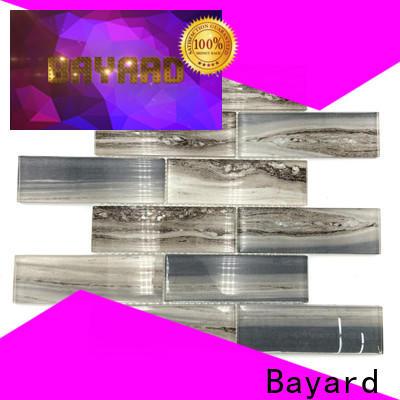 Bayard hot-sale iridescent glass mosaic tile for decoration