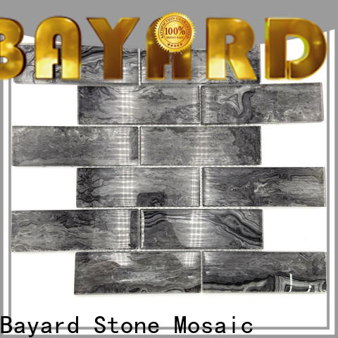 iridescent glass mosaic tile wooden order now for decoration