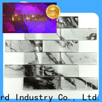 new arrival iridescent glass mosaic tile bright dropshipping for decoration