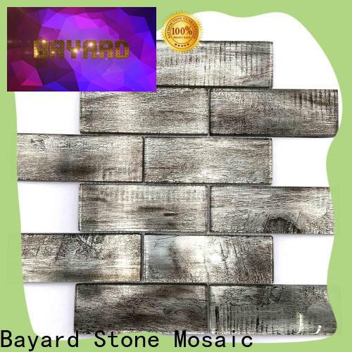 Bayard sea iridescent glass mosaic tile dropshipping for decoration