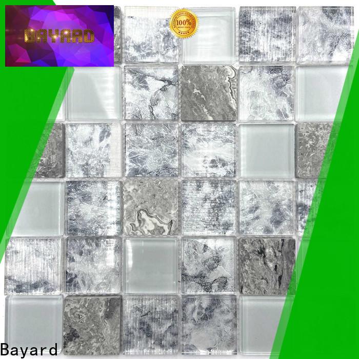 Bayard fantastic iridescent glass mosaic tile vendor for foundation