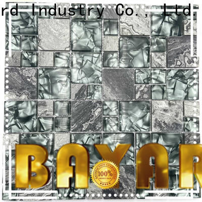 high-end iridescent glass mosaic tile white supplier for foundation