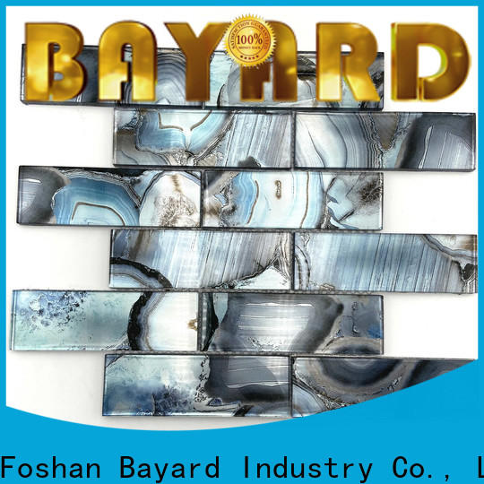 Bayard fantastic glass mosaic tile art factory price for hotel lobby
