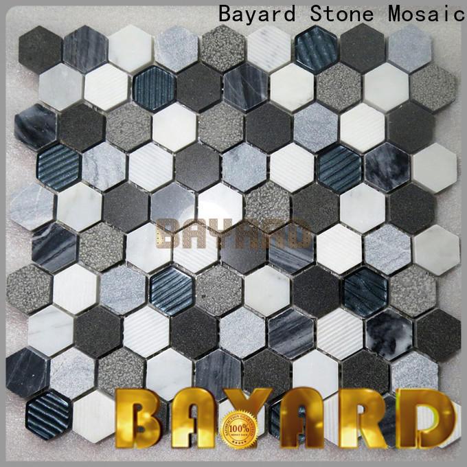Bayard affordable mosaic bathroom floor tile factory