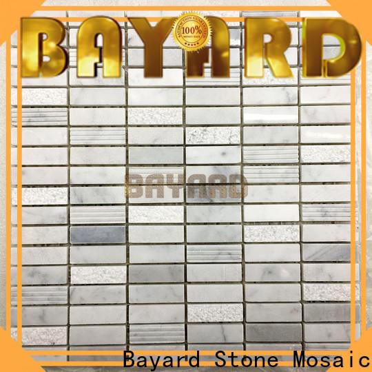natural mosaic backsplash bathroom supplier for hotel