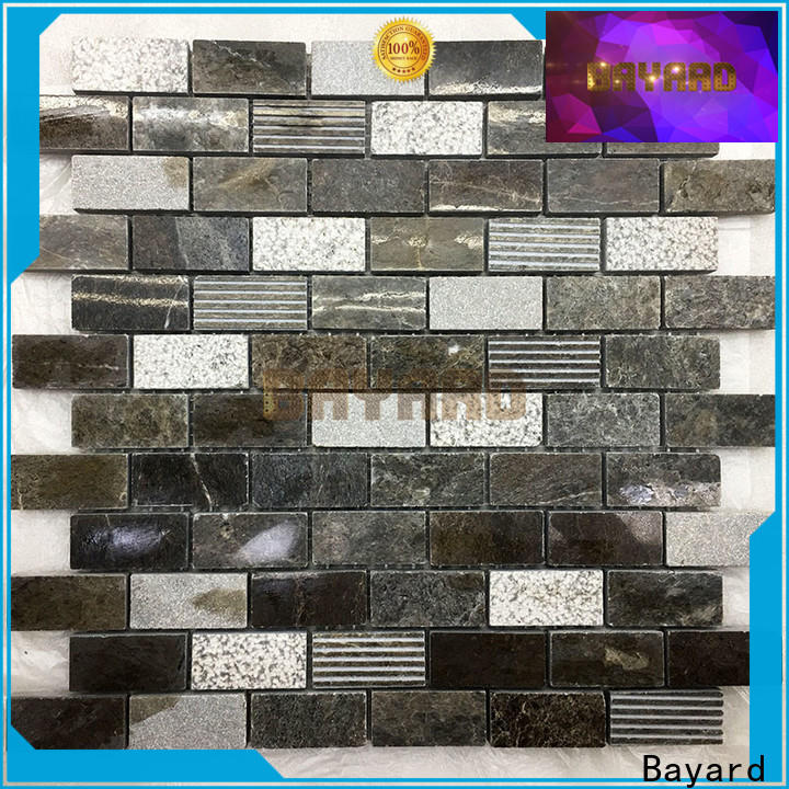 elegant stone mosaic wall for wholesale for decoration