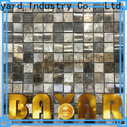 new arrival cheap mosaic tiles brown vendor for hotel