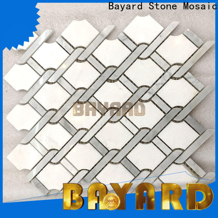 high quality mosaic kitchen floor tiles green factory price for hotel lobby