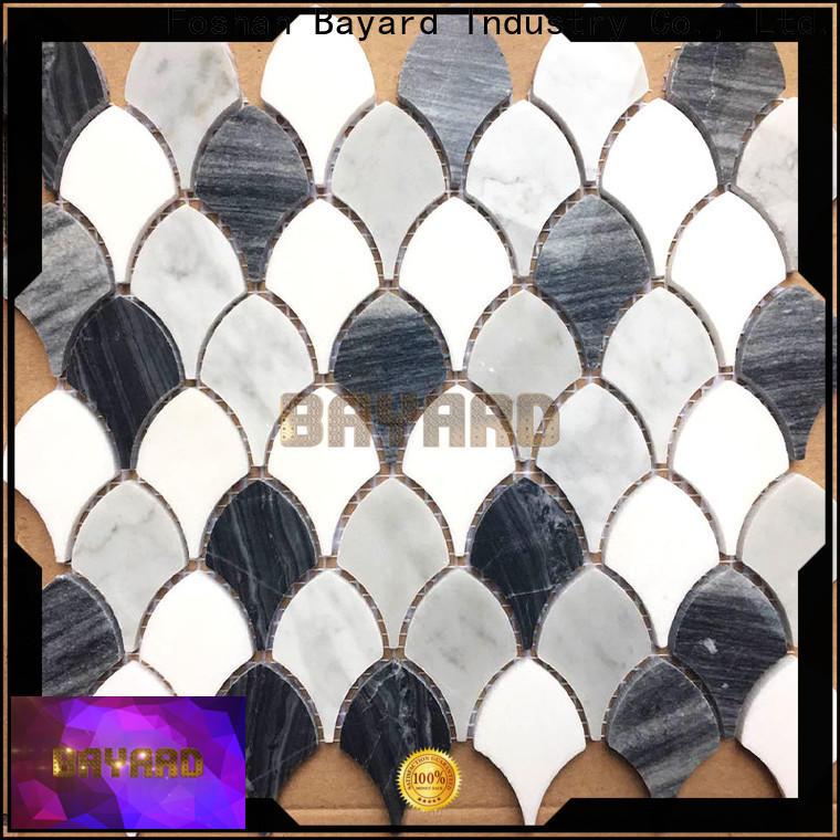 Bayard supplies grey mosaic floor tiles supplier