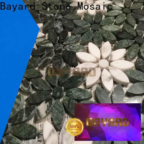 Bayard mysterious mosaic border tiles factory for hotel lobby