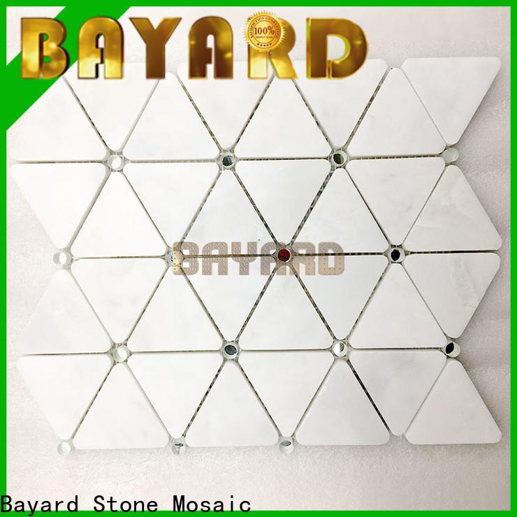 Bayard natural italian mosaic tile owner for wall decoration