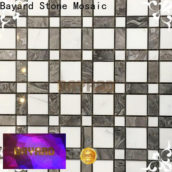 pebble mosaic tile floor overseas market for bathroom
