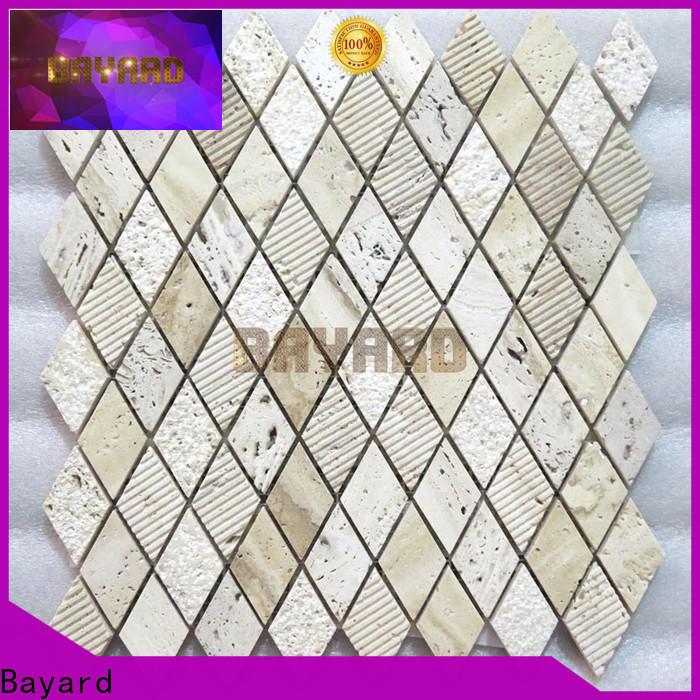 famous black mosaic tile backsplash tile for wholesale for bathroom