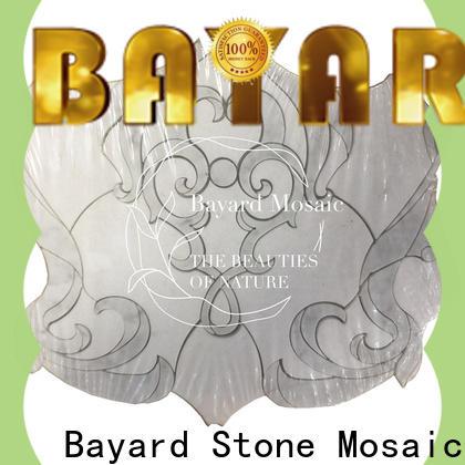 Bayard flower waterjet mosaic tile newly for decoration