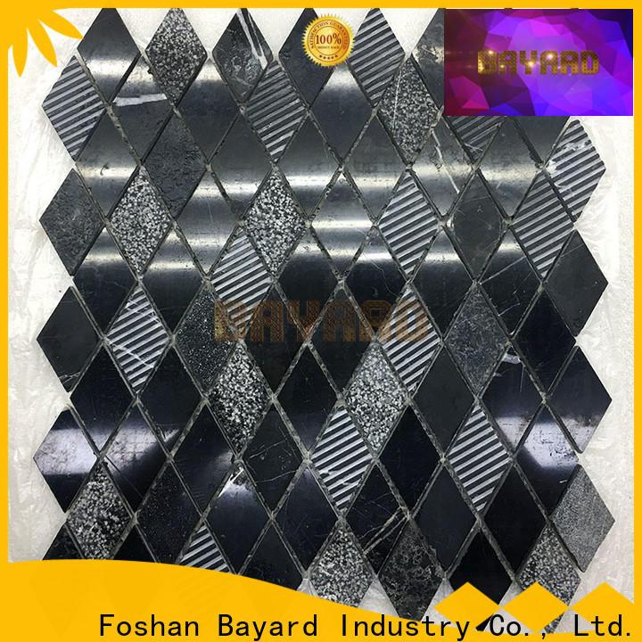 Bayard blue mosaic wall for TV wall