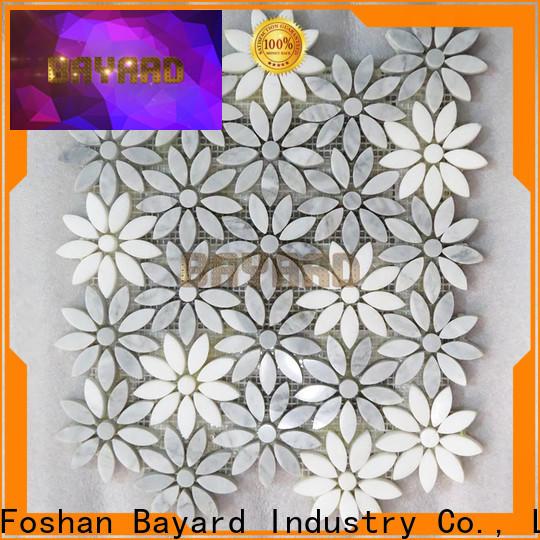 Bayard high quality grey mosaic floor tiles factory
