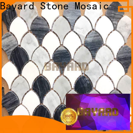 Bayard green mosaic tile supplies for bathroom