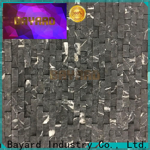 widely used slate mosaic tiles backsplash in different shapes for wall decoration