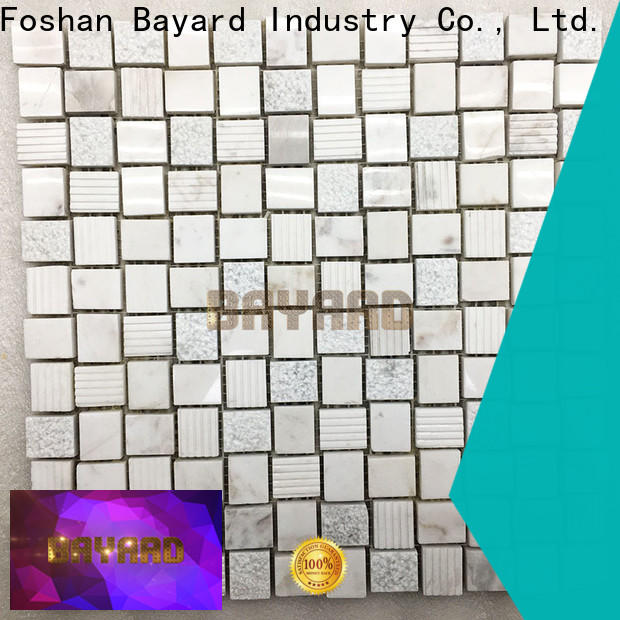 Bayard simple design 2x2 ceramic mosaic tile factory price for wall decoration
