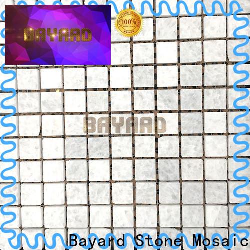 Bayard random decorative mosaic tiles overseas market for wall decoration