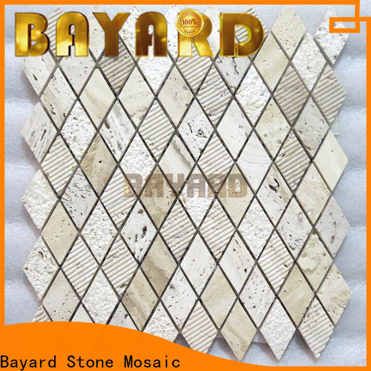 Bayard popular grey stone mosaic tiles newly for hotel lobby