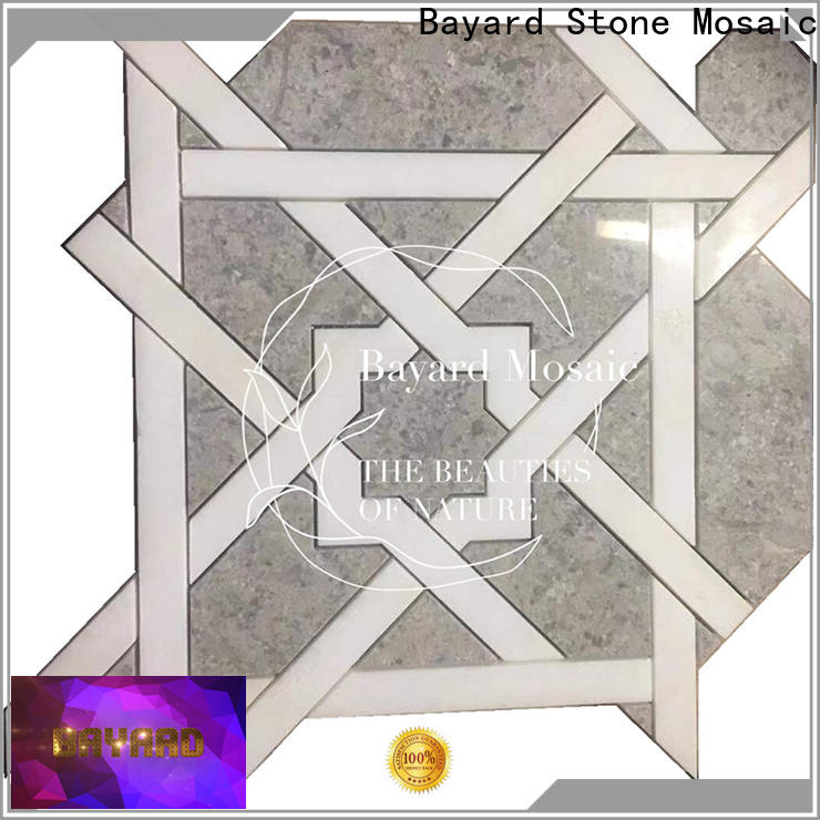 Bayard affordable waterjet mosaic for wholesale for foundation